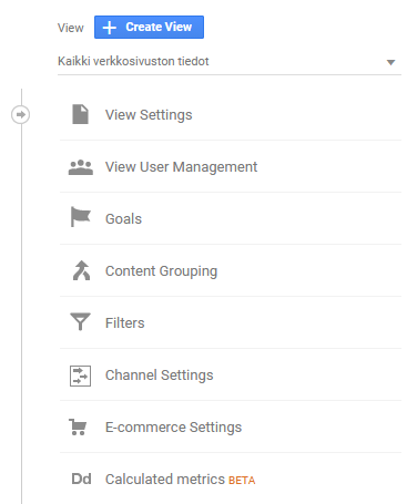 Google Analytics view user management